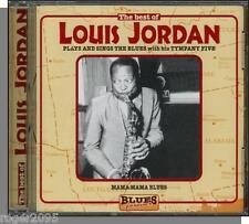Louis Jordan - Plays and Sings The Blues - New 18 Song European CD! (BD68017 CD)