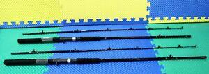 "Okuma Black Classic Pro 7' 0"" Lead Core Trolling Rod CP-LC-70 2-Pack!"