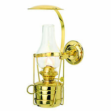 Fastnet Gimballed Oil Lamp, brass, excellent nautical gift