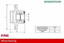 FAG 713 6494 00 WHEEL BEARING KIT Front