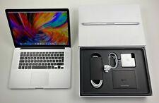 "Apple MacBook Pro Retina 15,4"" i7 2,6 Ghz 1 TB SSD 16 GB Ram SILBER"