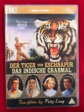 FRITZ LANG'S INDIAN EPIC DVD EUREKA MASTERS OF CINEMA IMPORT REGION 2