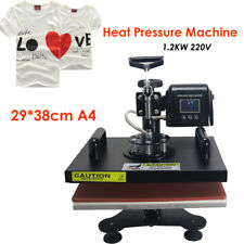 Sublimation Machine 29*38CM T-Shirt Heat Press Transfer Embossing Printer 1.2KW