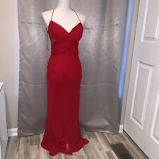 Cache Red Formal Dress Sz 4 Evening Gown