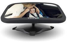 Baby Rückspiegel Kinderspiegel Babyspiegel Autospiegel Kinder TRAVALIGO Premium
