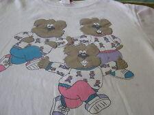 B.J. Frog Teddy Bear Cartoon Vintage 1987 Sweatshirt Large
