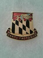 Authentic US Army Baltimore Coastal Defense Artillery DI DUI Crest Insignia