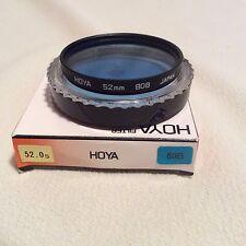 HOYA 52mm 80b BLUE CORRECTION FILTER