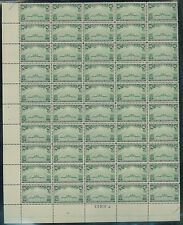 UNITED STATES  #C21 TRANS PACIFIC AIR MAIL FULL SHEET OF 50