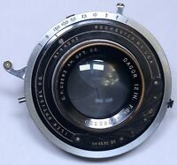 <AS IS> Goerz DAGOR 12in f/6.8 ILEX Optical Vintage Large Format Shutter Lens