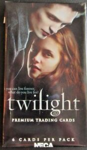 TWILIGHT  BY NECA   BASE / BASIC  CARDS   1 TO 72    CHOOSE  BY NECA