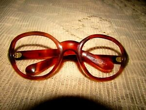 "Vintage Frame Sunglasses ""Samco Mod.dep"" Color Brown Rare Lowest Fixed Price #12"