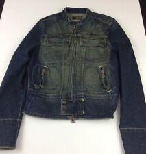Vintage Ralph Lauren Polo Denim Co - Denim Jean Jacket Coat Medium DARK