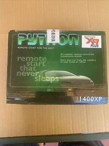 NEW in Sealed Box Python 1400XP Remote Start System