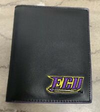 "East Carolina Black Leather Men""s Wallet"