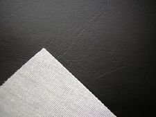 BLACK VINYL FAUX LEATHER FROM THE FABRIC BARN , LEATHERETTE UPHOLSTERY FABRIC 1m