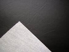 Vinilo negro imitación cuero desde la estructura Barn, Tela de tapicería de cuero 1m
