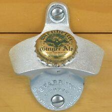BLENHEIM Ginger Ale Bottle Cap Starr X Wall Mount Stationary Bottle Opener NEW!