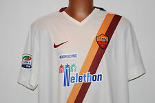 MAGLIA ROMA TOTTI TELETHON JERSEY NIKE 2014 2015 LIMITED EDITION SERIE A