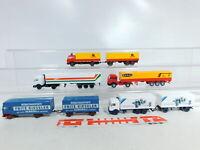 BX400-0,5# 5x Wiking 1:87/H0 LKW MB: Speer + Holert + Beral + Gieseler etc, NEUW