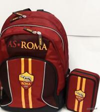 Roma A.S zaino scuola + astuccio 3 cerniere completo-school pack