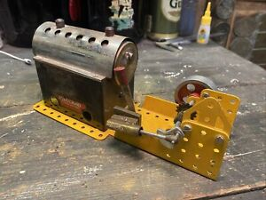 Live Steam Mamod meccano MEC1 Model Engine Toy Steam