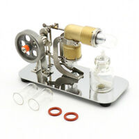 Cool Mini Air Stirling Engine Motor Model Educational Toy Goods Kits Electricity