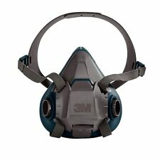 3M 6501 Rugged Comfort Half Facepiece Reusable Respirator, Size: SMALL