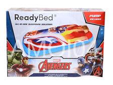 Marvel Avengers Captain America Ready Bed Boys Kids Sleeping Bag Air Mattress