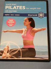 Quick Start Pilates for Weight Loss w/ Ana Caban, Dvd, Pre-owned, 2 Disc set