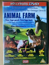 Animal Farm DVD 1999 Animated George Orwell Classic with Patrick Stewart