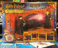 NEW HARRY POTTER POWERCASTER ELECTRONIC SPELL CASTING PLAYSET MIB