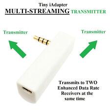 KOKKIA iSPLITTER (white): iAdapter MULTISTREAM Tiny Bluetooth Stereo Transmitter