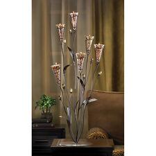 "1 Wedding Leopard Lily TREE TEALIGHT HOLDER Table Decor CENTERPIECE 31""Tall"