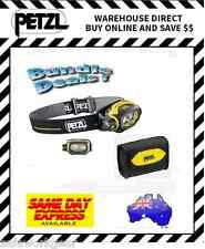 Bundle Deal Petzl Pixa 3 Headlamp Headtorch plus Pixa Pouch Carrier Storage