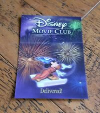 Disney Magic 3D Lenticular Movie Club Collectors Starter Card Mickey Mouse