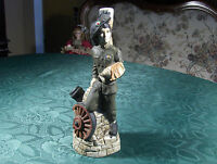 Flasche/Figur-Soldat Sammlerstück Keramik 1962 Jahr Morolo Italia Rarität Unikat