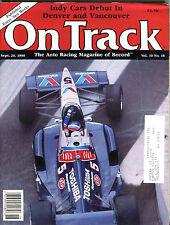 On Track Magazine September 20 1990 Al Unser VGEX 021516jhe