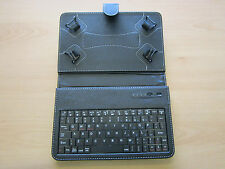 Bluetooth Keyboard Carry Case with Stand for Asus 16GB Google Nexus 7 1st Gen