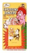 Exploding Cig Cigars Cigarette 10 Bangers Loads Party Prank Fun Joke Gags Tricks