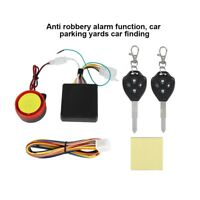 Motorcycle Motorbike Alarm System Security Remote Control Anti-theft 125Db 12V