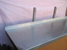 Shelf - stainless steel - wall mounting- 1500mm / 59'' long