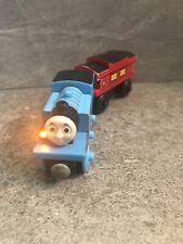 Thomas & Friends Wooden Railway Train Engine TALKING THOMAS & MUSICAL CABOOSE