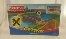 Fisher-Price Geo Trax Rail Track Pack Rail & Road System Train Toys NEW