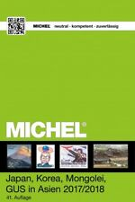 Catálogo Michel de Japón Corea Mongolia CEI en Asia. 2017/2018.