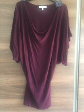 Jasper Conran at Debenhams plum/burgundy knitted top size 10