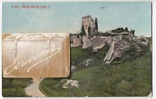 Dorset; Corfe Castle Novelty Fold Out PPC, Unposted, By Photochrom