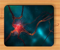 NEURON VIEW OF MICROSCOPIC SCIENCES MOUSE PAD -hfd3Z