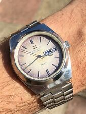 Vintage Zenith Defy Surf Automatic Mens Watch Ref. 01-0170-346 Swiss Made