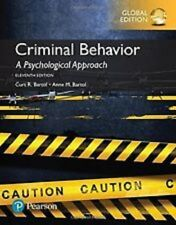 Criminal Behavior : A Psychological Approach 11e by Anne M.Bartol global edition